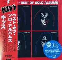 KISS - BEST OF SOLO ALBUMS (HI-RES CD, MINI LP)