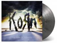 KORN - THE PATH OF TOTALITY (SILVER & BLACK MIXED vinyl LP)