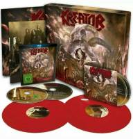 KREATOR - GODS OF VIOLENCE (RED vinyl 2LP + CD + BLU-RAY BOX SET)