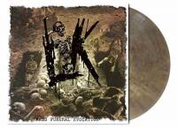 LIK - MASS FUNERAL EVOCATION (GREY-BROWN MARBLED vinyl LP)