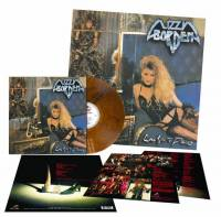 LIZZY BORDEN - LOVE YOU TO PIECES (GOLDEN BROWN MARBLED vinyl LP)