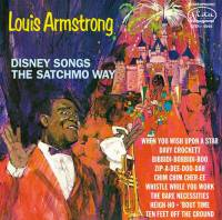 LOUIS ARMSTRONG - DISNEY SONGS THE SATCHMO WAY (LP)