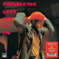 MARVIN GAYE - LET'S GET IT ON (RED vinyl LP)