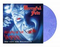 MERCYFUL FATE - RETURN OF THE VAMPIRE: THE RARE AND UNRELEASED  (VIOLET BLUE MARBLED vinyl LP)