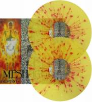 MESHUGGAH - DESTROY ERASE IMPROVE (YELLOW/RED SPLATTER vinyl 2LP)