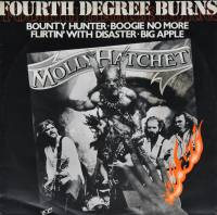 "MOLLY HATCHET - FOURTH DEGREE BURNS (12"" EP)"