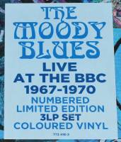 THE MOODY BLUES - LIVE AT THE BBC 1967-1970 (COLOURED vinyl 3LP)