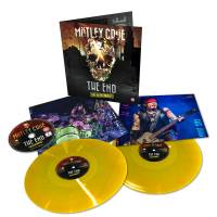 MOTLEY CRUE - THE END: LIVE IN LOS ANGELES (YELLOW vinyl 2LP + DVD)