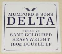 MUMFORD & SONS - DELTA (COLOURED vinyl 2LP)