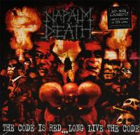 NAPALM DEATH - THE CODE IS RED...LONG LIVE THE CODE (RED/SILVER vinyl LP)