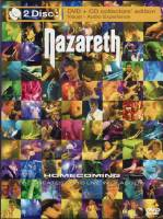 NAZARETH - HOMECOMING: THE GREATEST HITS LIVE IN GLASGOW (DVD + CD)