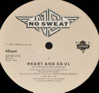 "NO SWEAT - HEART AND SOUL (12"")"
