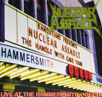 NUCLEAR ASSAULT - LIVE AT THE HAMMERSMITH ODEON (LP)