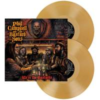 PHIL CAMPBELL AND THE BASTARD SONS - WE'RE THE BASTARDS (GOLD vinyl 2LP)