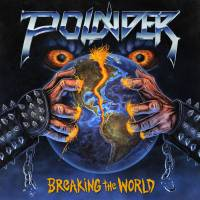 POUNDER - BREAKING THE WORLD (BLUE/ORANGE vinyl LP)