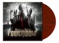 POWERWOLF - BLOOD OF THE SAINTS (RED/BLACK MARBLED vinyl LP)