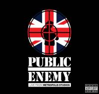 PUBLIC ENEMY - LIVE FROM METROPOLIS STUDIOS (2CD)