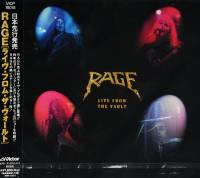 RAGE - LIVE FROM THE VAULT (CD)