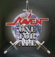 RAVEN - ALL FOR ONE (PURPLE vinyl LP)