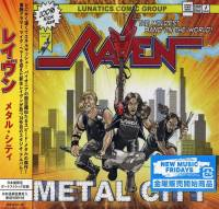 RAVEN - METAL CITY (CD)