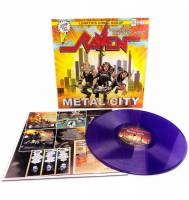 RAVEN - METAL CITY (PURPLE vinyl LP)