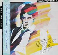 RICK SPRINGFIELD - WAIT FOR NIGHT (LP)
