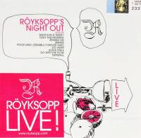 ROYKSOPP - ROYKSOPP'S NIGHT OUT: LIVE EP (CD)