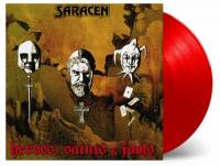 SARACEN - HEROES, SAINTS & FOOLS (RED vinyl LP)