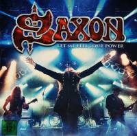 SAXON - LET ME FEEL YOUR POWER (2LP + 2CD + BLU-RAY)