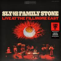 SLY AND THE FAMILY STONE - LIVE AT THE FILLMORE EAST (COLOURED vinyl 2LP)