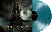 SORCERER - THE CROWNING OF THE FIRE KING (TURQUOISE BLUE vinyl 2LP)