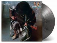 STEVIE RAY VAUGHAN AND DOUBLE TROUBLE - IN STEP (SILVER/BLACK MARBLED vinyl LP)