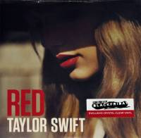 TAYLOR SWIFT - RED (CRYSTAL CREAR vinyl 2LP)