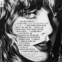 TAYLOR SWIFT - REPUTATION (PICTURE DISC 2LP)