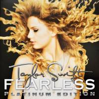 TAYLOR SWIFT - FEARLESS (PLATINUM EDITION) (CLEAR & GOLD vinyl 2LP)