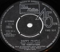 THE TEMPTATIONS - HAPPY PEOPLE (7
