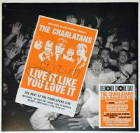 THE CHARLATANS - LIVE IT LIKE YOU LOVE IT (COLOURED vinyl 2LP)