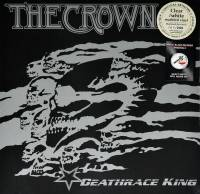 THE CROWN - DEATHRACE KING (CLEAR/WHITE MARBLED vinyl LP)
