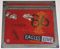 THE EAGLES - EAGLES LIVE (2LP)