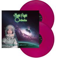 THE NIGHT FLIGHT ORCHESTRA - SOMETIMES THE WORLD AIN'T ENOUGH (VIOLET vinyl 2LP)