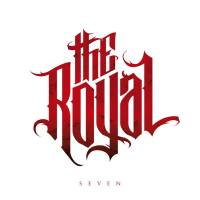 THE ROYAL - SEVEN (RED/WHITE MARBLED vinyl LP)