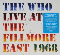 THE WHO - LIVE AT FILLMORE EAST 1968 (2CD)