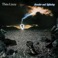 THIN LIZZY - THUNDER AND LIGHTNING (LP)