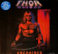 THOR - UNCHAINED (BLUE vinyl LP)