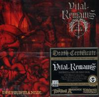 VITAL REMAINS - DECHRISTIANIZE (2CD)