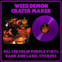 WEED DEMON - CRATER MAKER (PURPLE vinyl LP)
