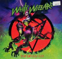 WHITE WIZZARD - THE DEVILS CUT (WHITE vinyl LP)