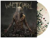 WHITECHAPEL - THIS IS EXILE (TRANSPARENT / BLACK & RED SPLATTERED vinyl LP)