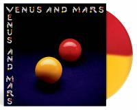 WINGS - VENUS AND MARS (RED/YELLOW vinyl LP)