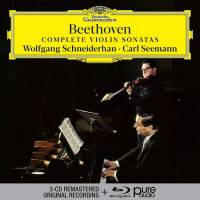 WOLFGANG SCHNEIDERHAN/CARL SHEEMAN - BEETHOVEN: COMPLETE VIOLIN SONATAS (3CD + BLU-RAY AUDIO)